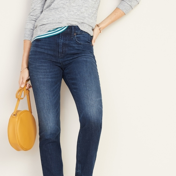 Old Navy Denim - Old Navy Power Straight High Rise Jeans